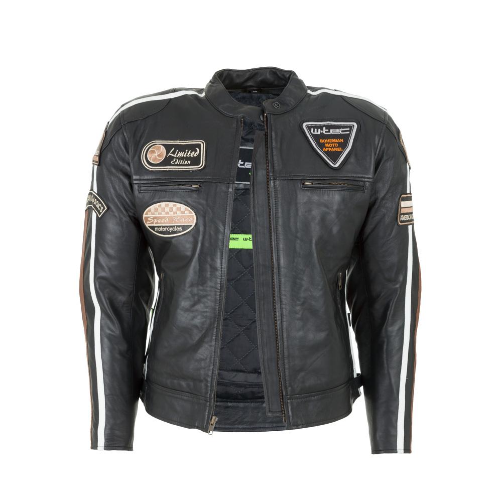 c88f559579e1b Damska skórzana kurtka motocyklowa W-TEC Sheawen Lady - Czarny. Stylowa ...