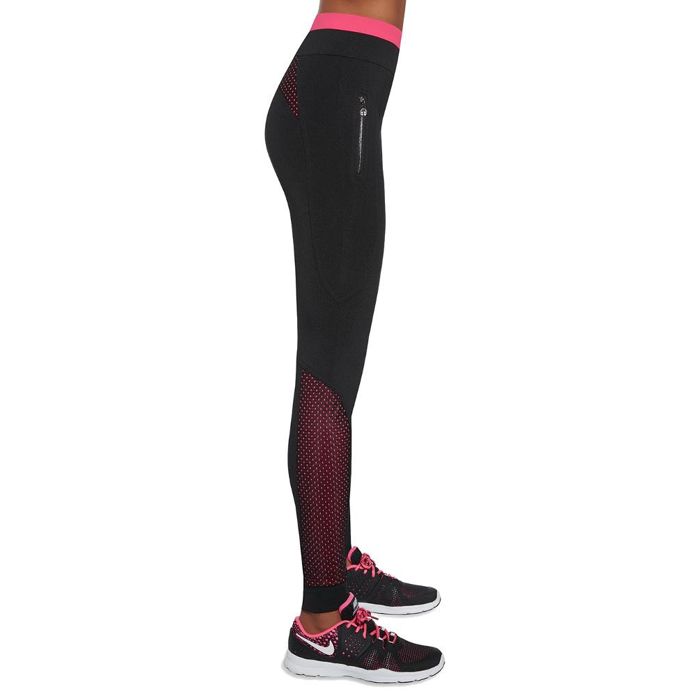 66b59bfc6c385b Damskie sportowe legginsy BAS BLACK Inspire - Czarno-różowy. Nowoczesny ...