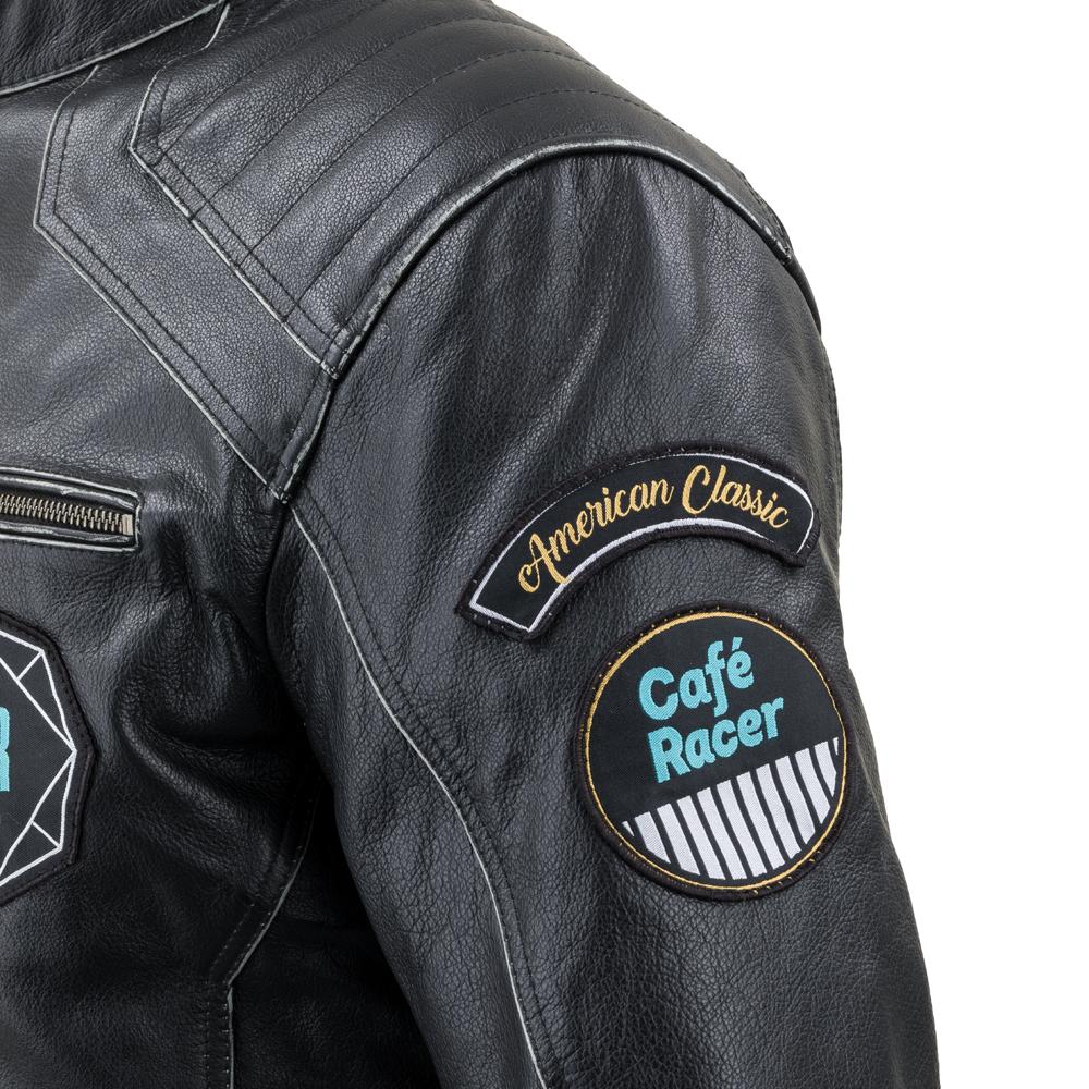 Skórzana kurtka motocyklowa W TEC Losial