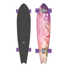 Longboard Street Surfing Fishtail - Cloudy 42""