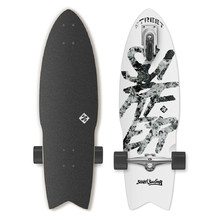 Longboard Street Surfing Shark Attack Great White 30""