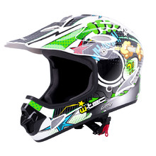 Kask Downhill na rower motor enduro W-TEC FS-605 Allride - Cartoon