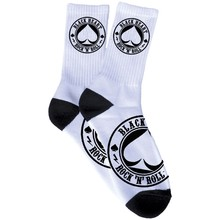 Skarpetki BLACK HEART Ace Of Spades Socks - Biały