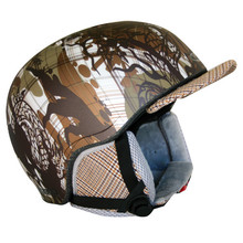 Kask snowboardowy WORKER Flux - khaki graphic