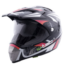 Kask motocyklowy W-TEC NK-311 enduro + BLENDA 2019 - Cube Black Orange