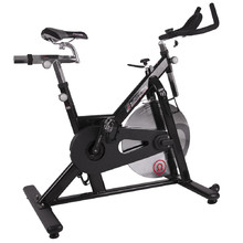 Rower spinningowy inSPORTline Omegus - OUTLET - Czarny