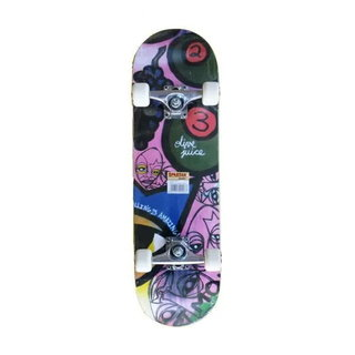 Deskorolka Skateboard Spartan Circle Star - Olive Juice Abstract