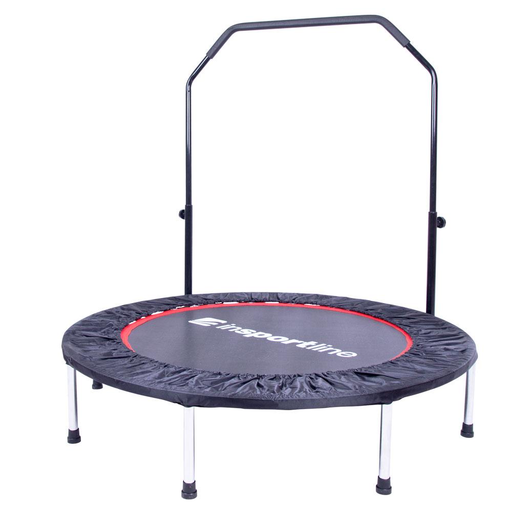Trampolina fitness z uchwytem inSPORTline PROFI 122 cm wzmacniana