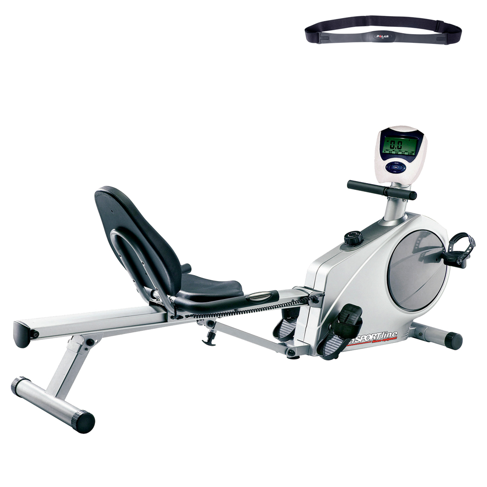 Wioślarz i rower treningowy poziomy inSPORTline SEG 6601