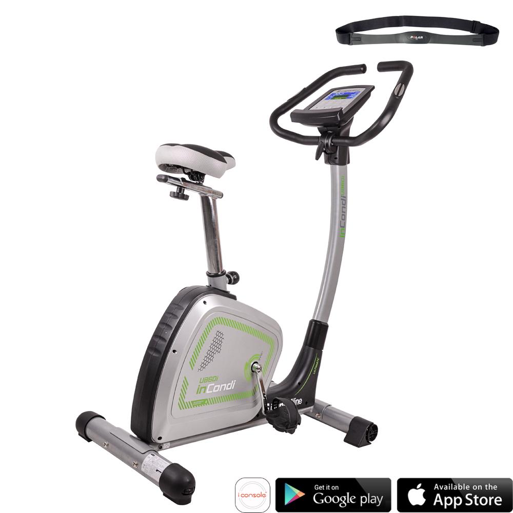 Rower treningowy pionowy inSPORTline inCondi UB60i