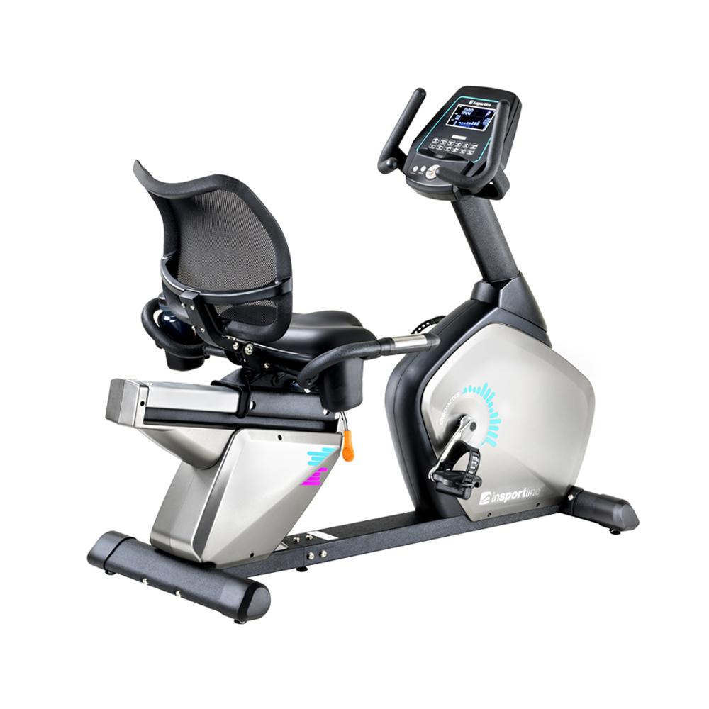 Poziomy rower treningowy inSPORTline Halimed