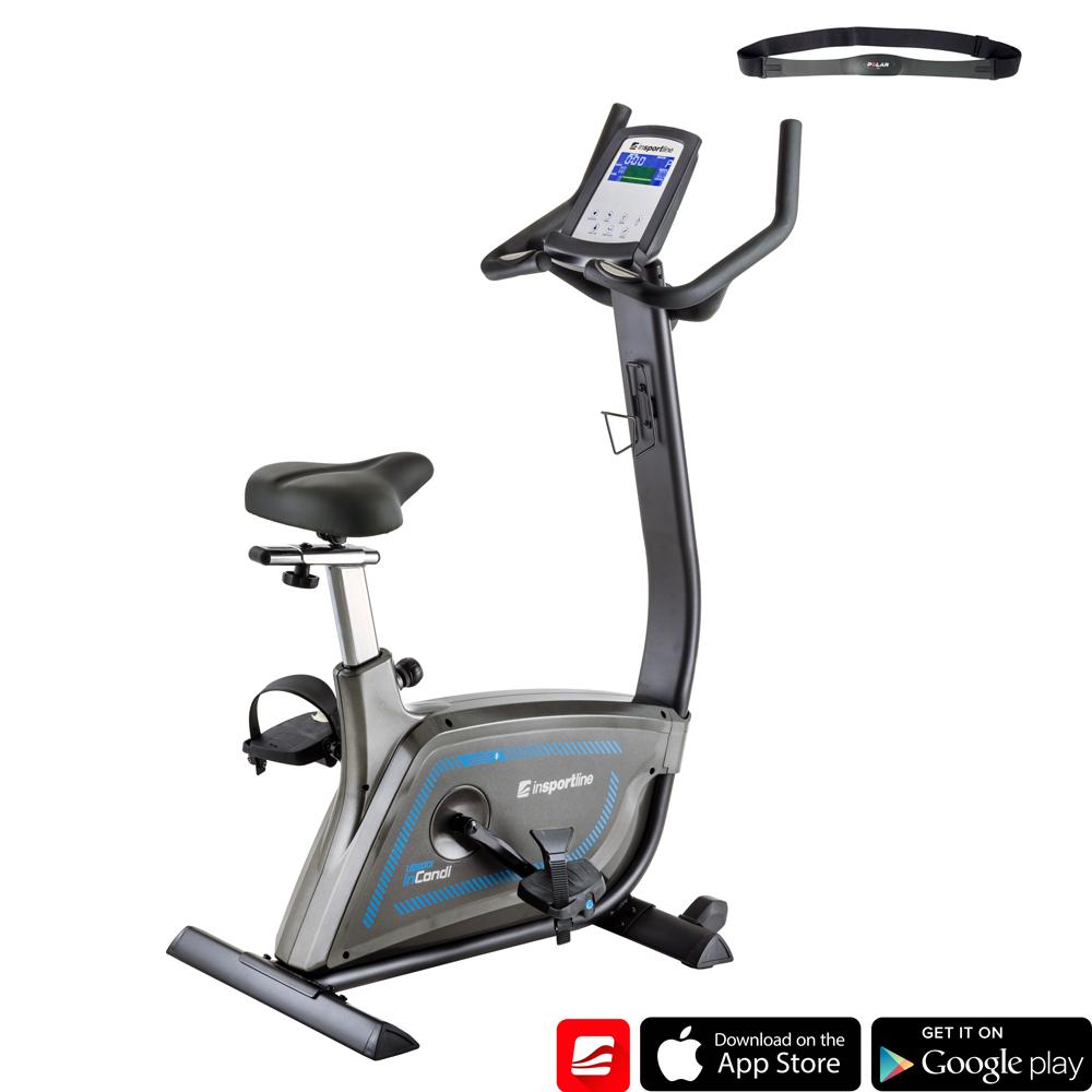 Rower treningowy inSPORTLine inCondi UB600i pionowy do klubu model 2019