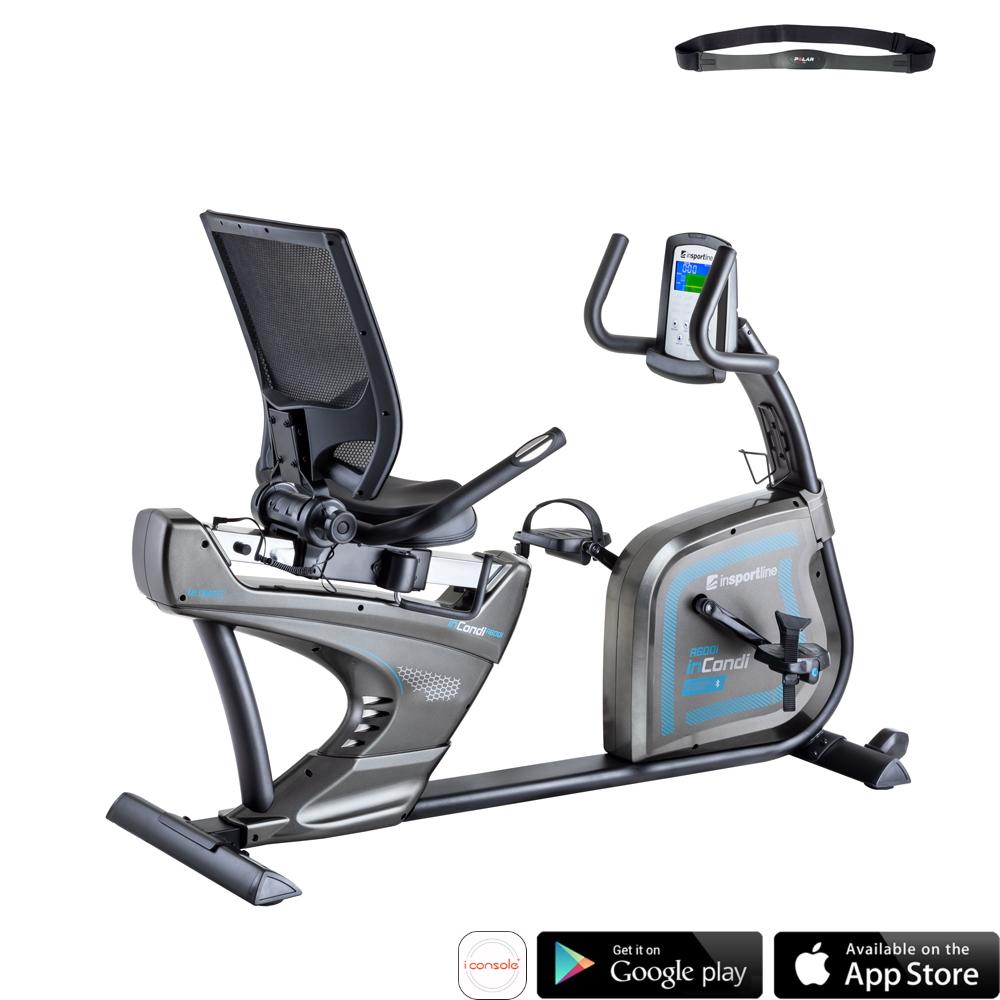 Rower Rehabilitacyjny inSPORTline inCondi R600i Treningowy Poziomy