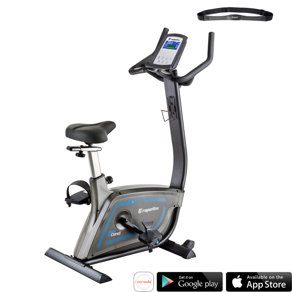 Rower treningowy inSPORTLine inCondi UB600i pionowy do klubu