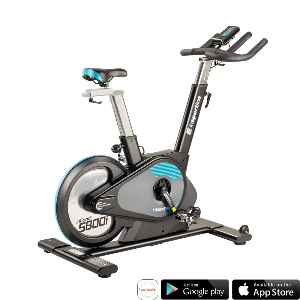 Profesjonalny spinningowy rower treningowy inSPORTline inCondi S800i